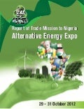 Report of Emerging Renewable Energy Companies to Nigeria Alternative Energy Expo 2012