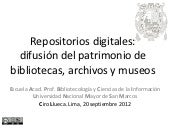 Repositorios digitales (Ciro Llueca...