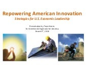 Repowering American Innovation
