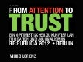From Attention to Trust: Perspektiven durch Datenjournalismus