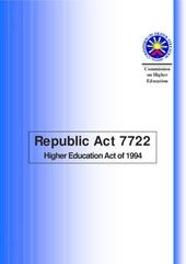 Republic act 7722