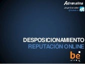 Reputacion Online be marketing 2013