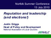Reputation and leadership   norfolk...