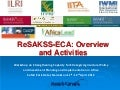 Re sakss eca - presentation at resakss-africalead workshop-ap
