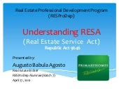 Real Estate Service Act Philippines