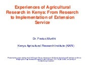 Research Extension Implementation O...
