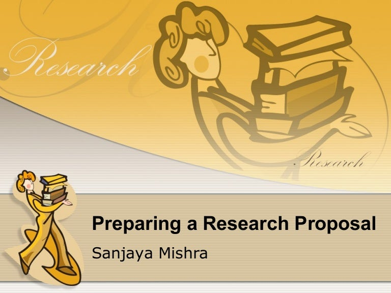 Research proposal rationale