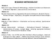Research methodology 2013