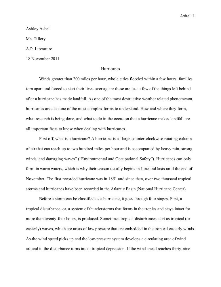 Research paper for college
