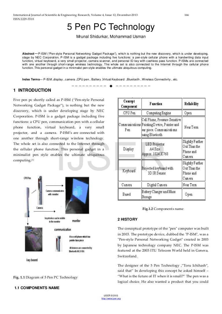 introduction of technology research paper