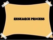 Research process and sampling