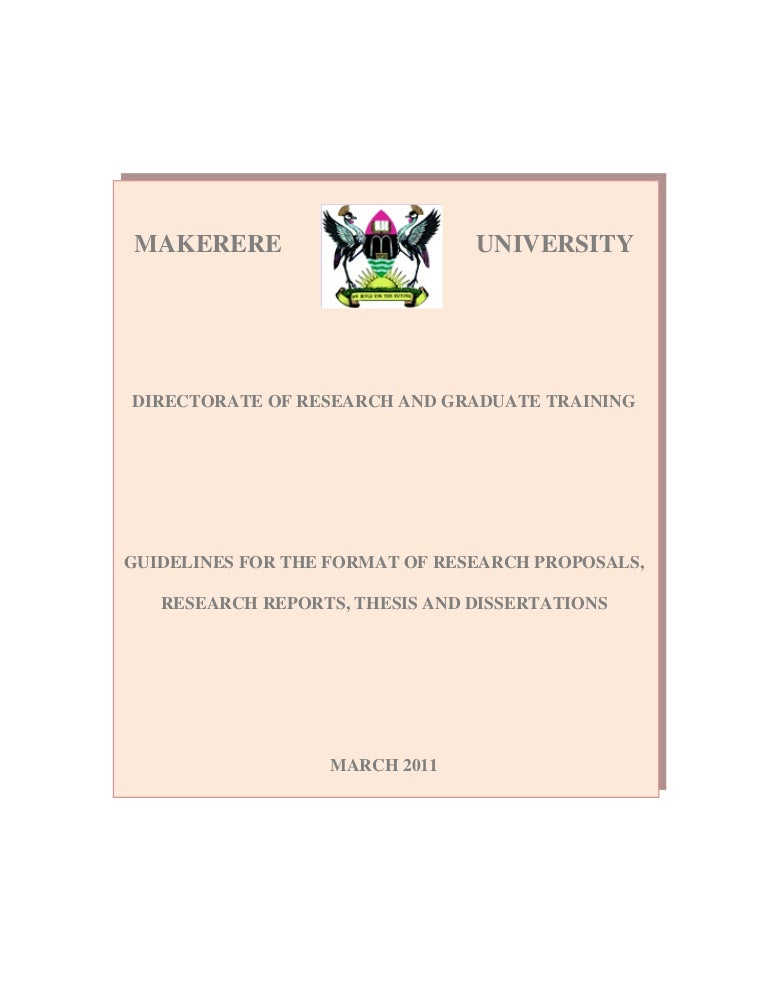 Master of arts thesis template
