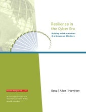 Resilience in the Cyber Era