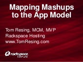 Mapping Mashups to the App Model by...