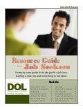Resource Guide for Job Seekers