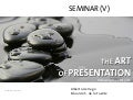 The Art of Presentation V. Following the ZEN path. RESOURCES