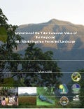 Estimation of the Total Economic Value of the Proposed Mt. Mantalingahan Protected Land-Scape