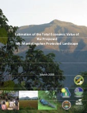 Estimation of the Total Economic Va...