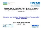 Responding to the global food security challenge through coordinated land and water governance