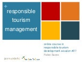 YAC - Responsible Tourism Management