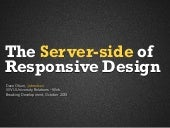 The Server Side of Responsive Web D...