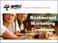 Restaurant Marketing Cookbook 2.0