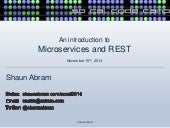 REST and Microservices