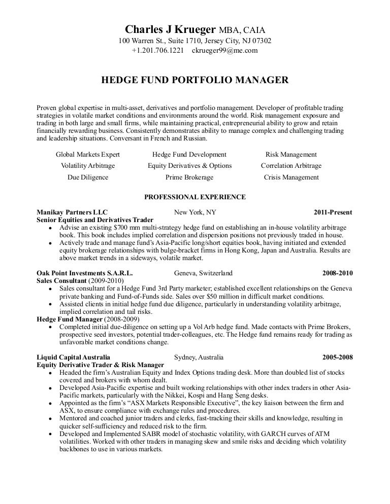 stock market resume sample stock market resume sample day trader – Stock Broker Resume