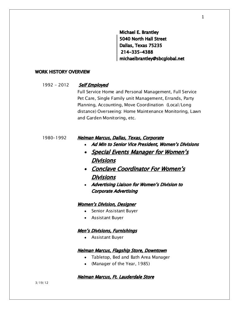 Resume 2012 Free Professional Templates Cv Example For