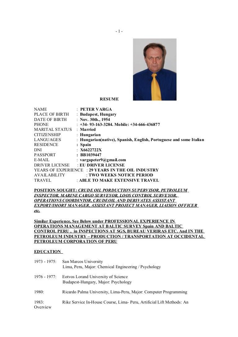 resume for linkedin