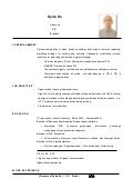 Resume Template (Sample:Dylan Ko)