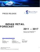 Retail forecast of india2011 press ...