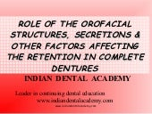 Retention /certified fixed orthodon...