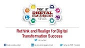 Rethink and Realign for Digital Transformation Success