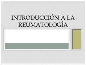Reumatologia introduccion