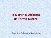 Revertir la diabetes de Sergio