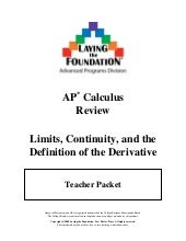 Review 1 -_limits-_continuity_(pcalc+_to_ap_calc)