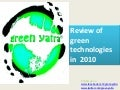 Review of green technology 2010