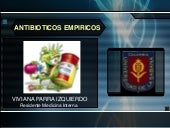 Revision de antibioticos empiricos