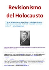 Revisionismo del holocausto