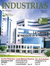Revista Industrias Agosto 2013
