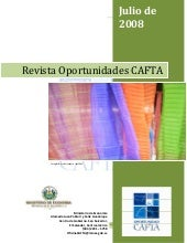 Revista Oportunidades Cafta Julio 2008