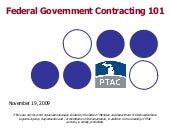 PTAC - Federal Government Contracti...