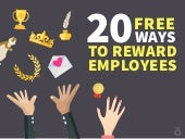 20 Free Ways to Reward Employees