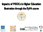 Impacts of MOOCs in Higher Educatio...