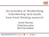 Modernising Volunteering - Jamie Th...