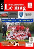 Magazine officiel du Football Club de luingne