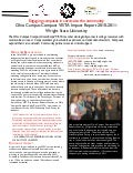 2011 Wright State University Ohio Campus Compact VISTA Report