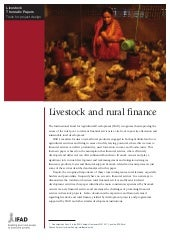Livestock and Rural Finance