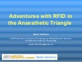 Rfid In Anaesthetic Triangle